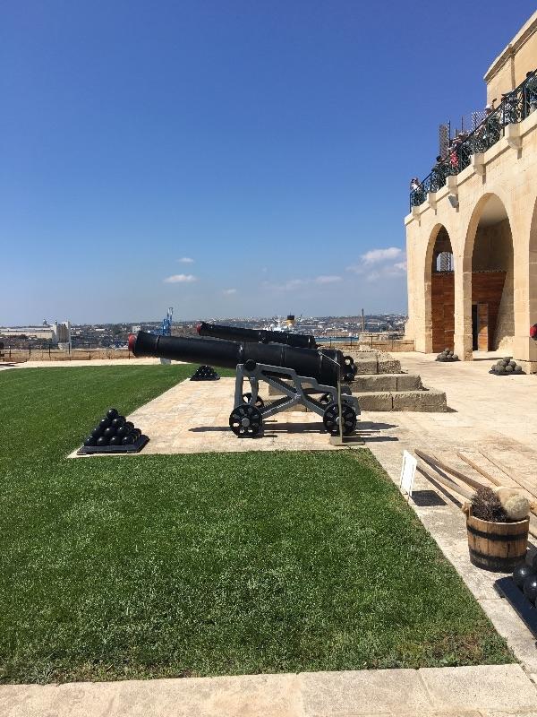 Saluting Battery, Malta