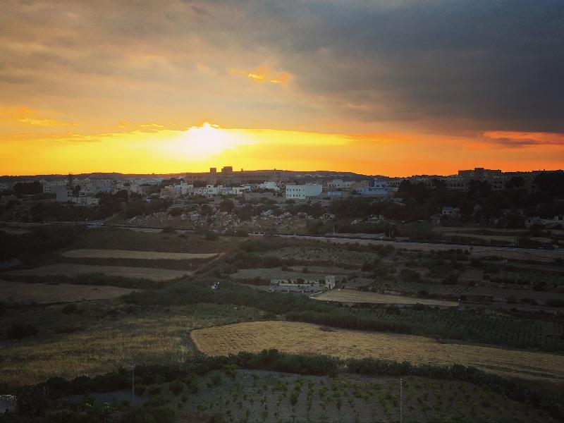 Sunset from Mdina