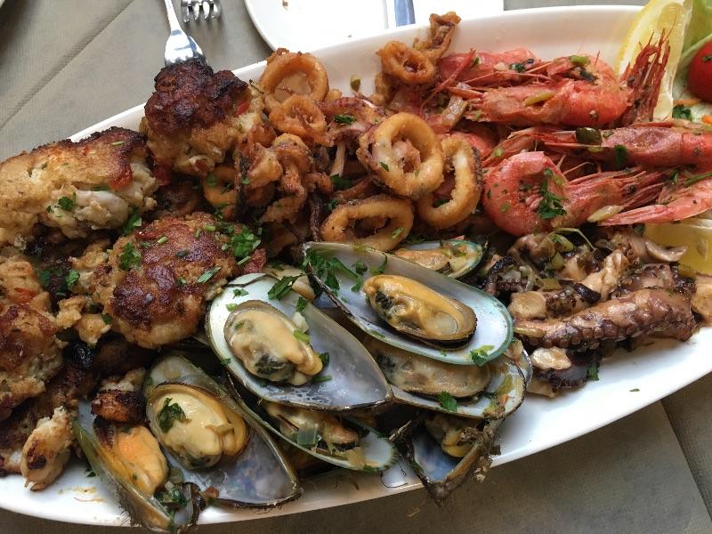Marsaxlokk Seafood, Malta