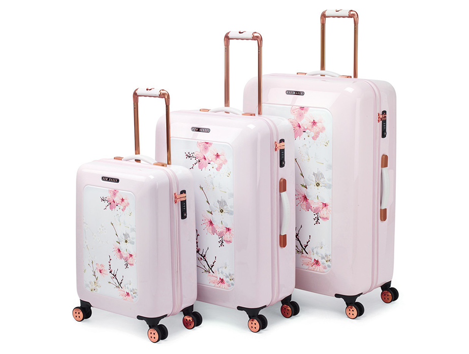 And what better to pack it all in than this beautiful Ted Baker luggage?