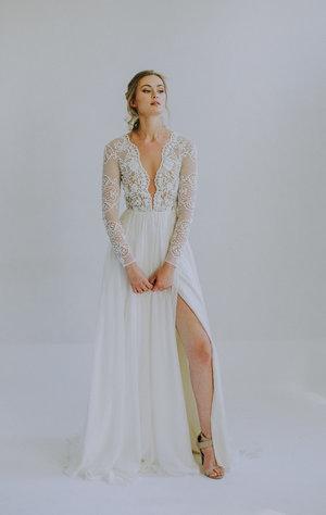 d050d9c2a70 Unique Bridal Gowns and Wedding Dresses — Leanne Marshall