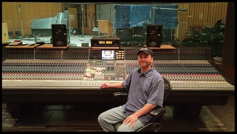 Vince at Capital Studios