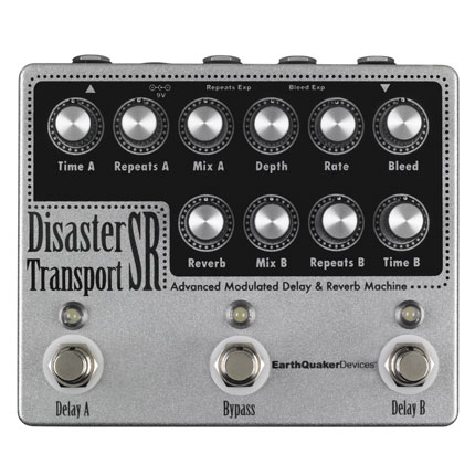 Disaster Transport SR™   Advanced Modulated Delay & Reverb Machine  $349.00
