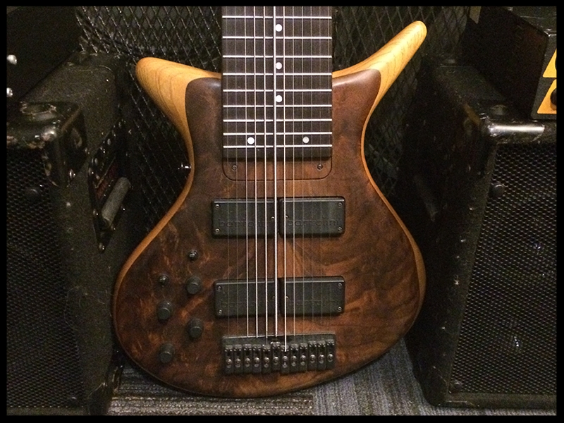 12 string Artist Series (swamp ash/walnut body, maple/wenge/tarara neck w/wenge fretboard, Bartolini electronics)