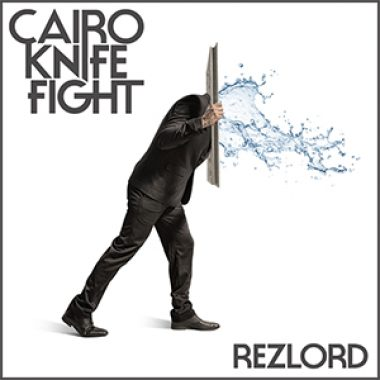 The Faceless Man on the cover of Cairo Knife Fight's  Rezlord.
