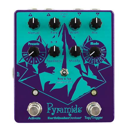 Pyramids™   Stereo Flanging Device  $299.00