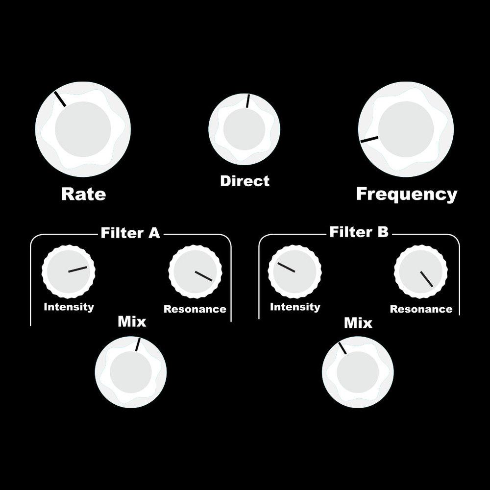2/4 Harmonic Circles  Strike some harmonics at the 12th fret to set up a pulsing rhythmic motif.