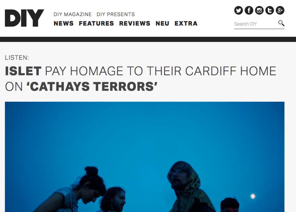 DIY Premiere for 'Cathays Terrors'