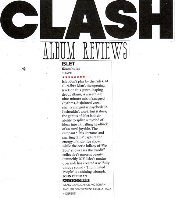Clash 8/10 Illuminated People Review