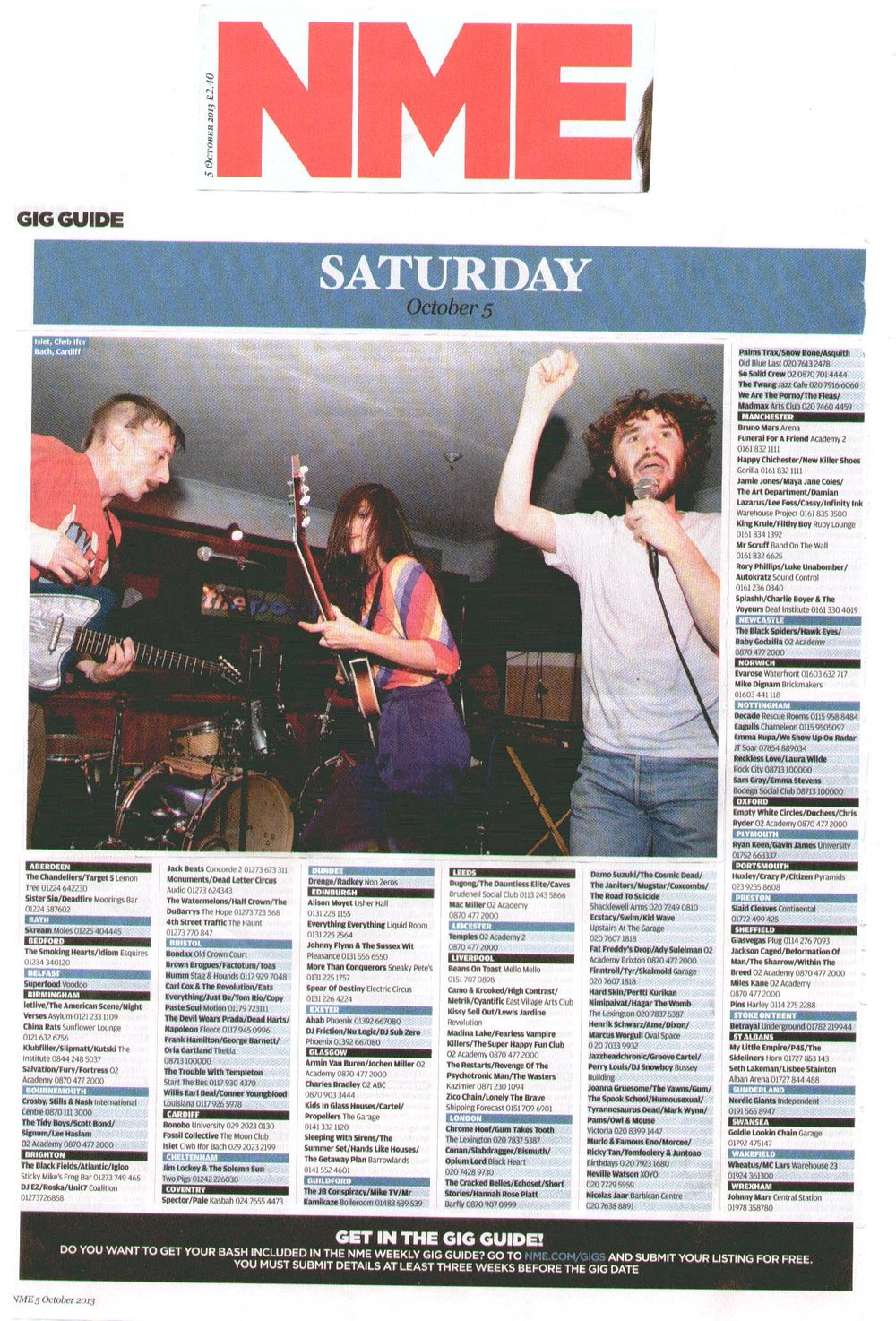 Islet NME Gig Guide.jpg