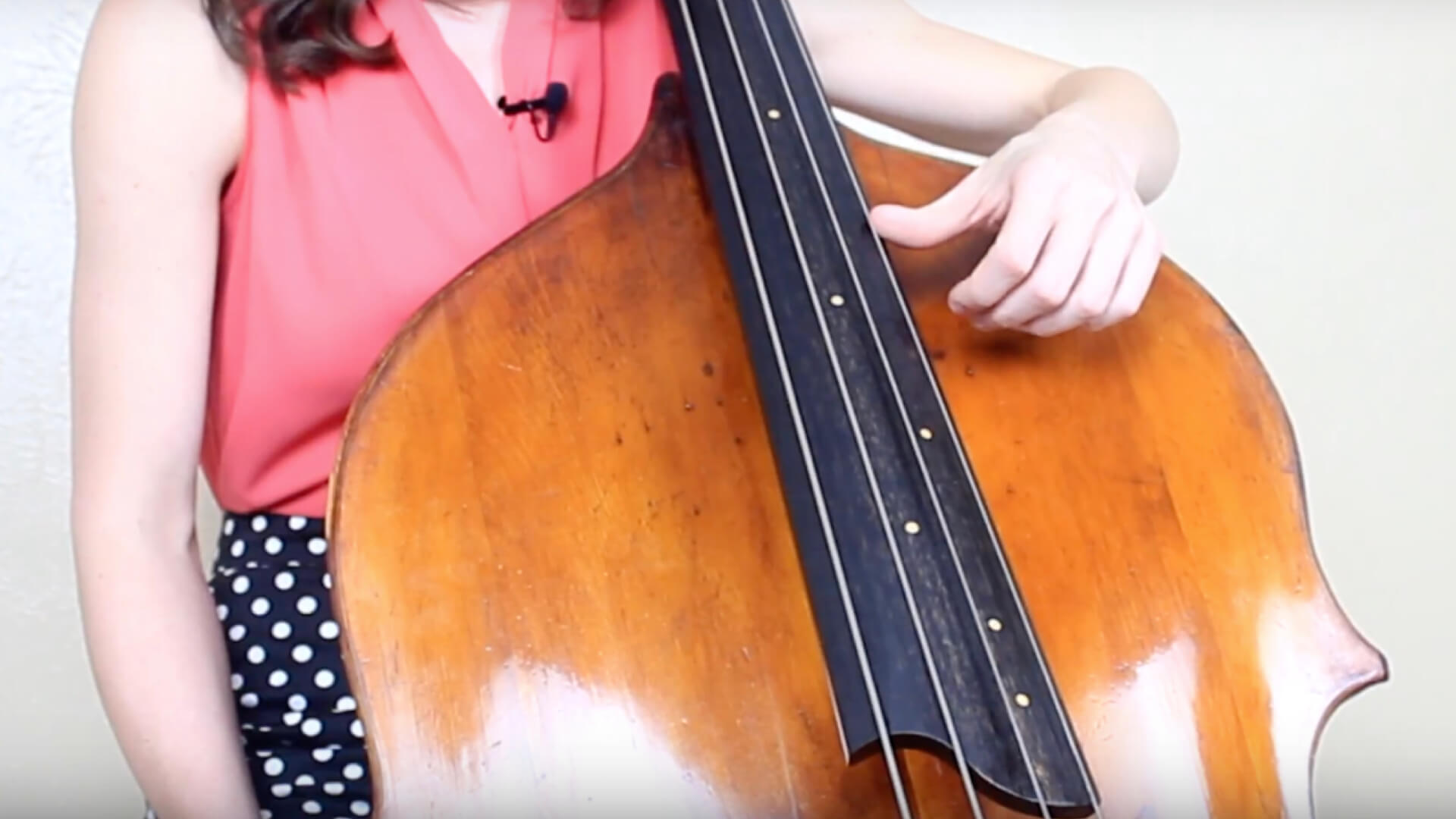 Double bass thumb position, young girl butt licking while they sleep