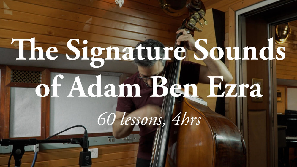 The Signature Sounds of Adam Ben Ezra
