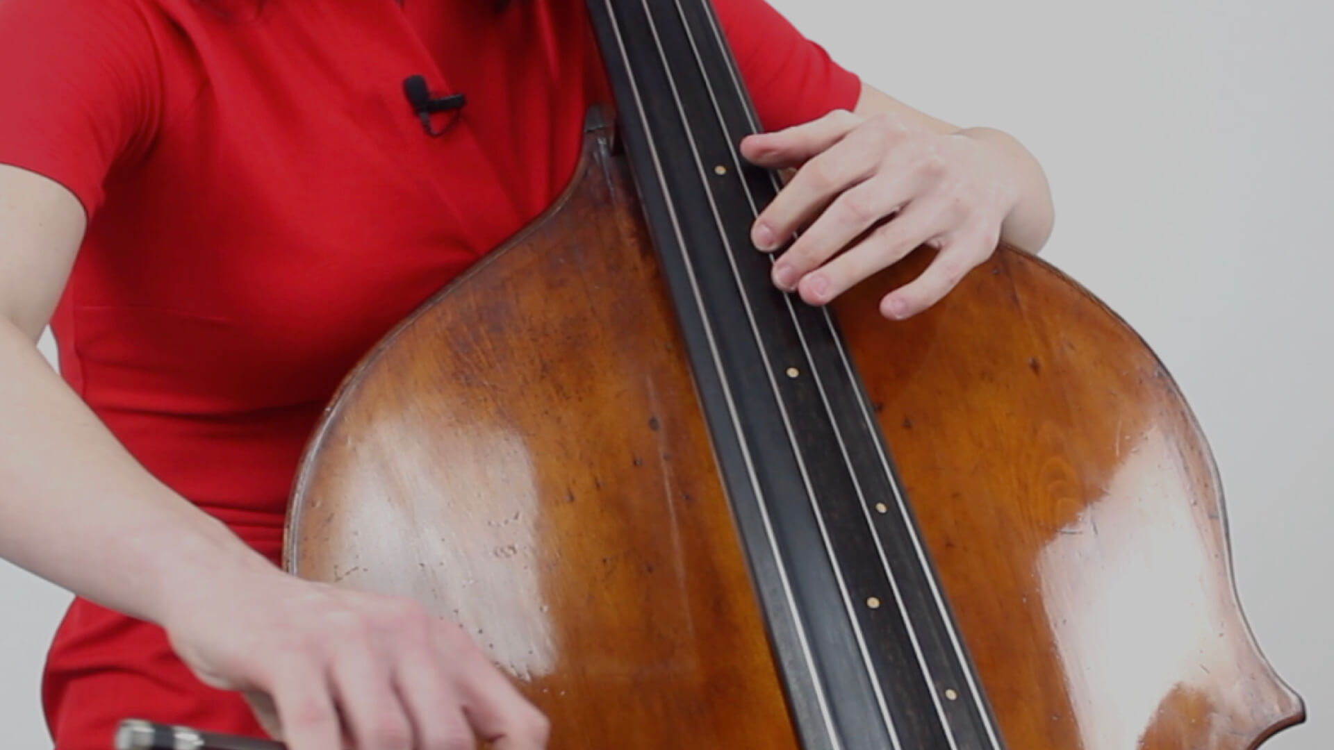 Double bass thumb position — pic 10