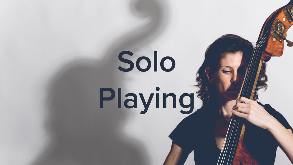 Concepts of Solo Playing - Lauren Pierce
