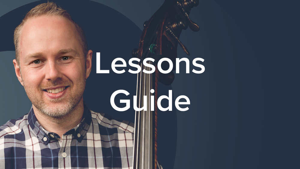 YouTube Lessons Guide - Geoff Chalmers