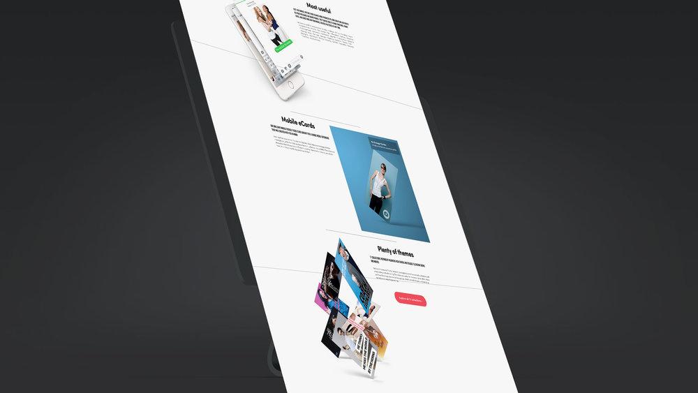 Pipture Startup Website Design