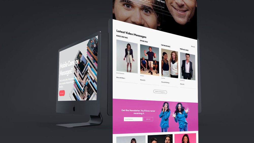 Pipture Website Design