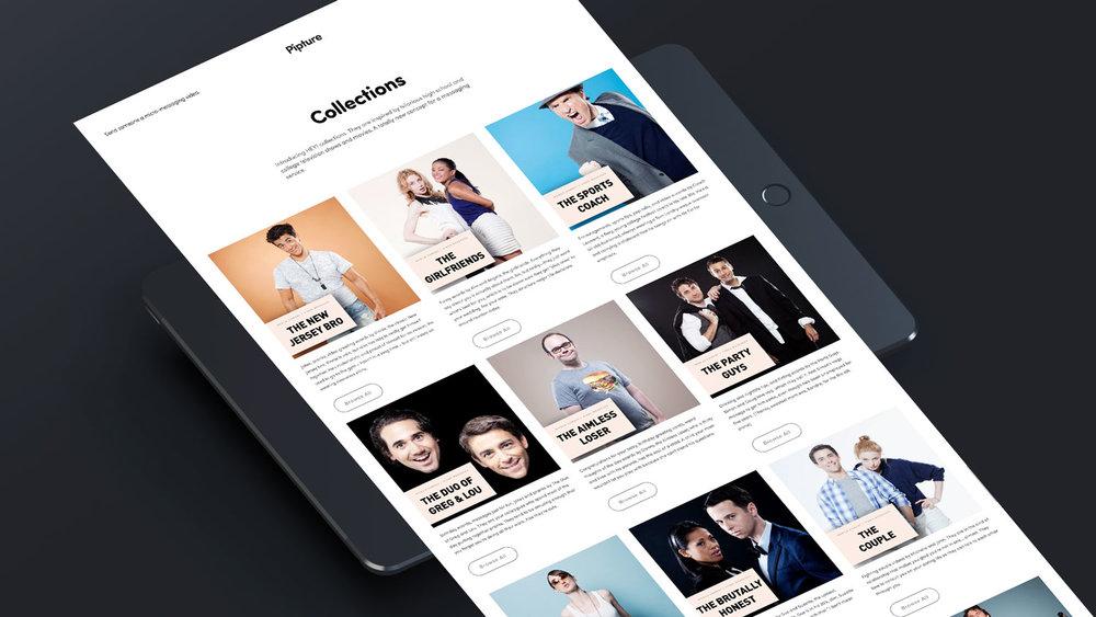 Startup Pipture Website