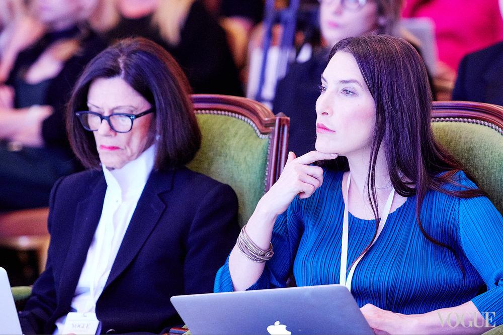 Lizzy Bowring @WGSN & Sara Kozlowski @CFDA