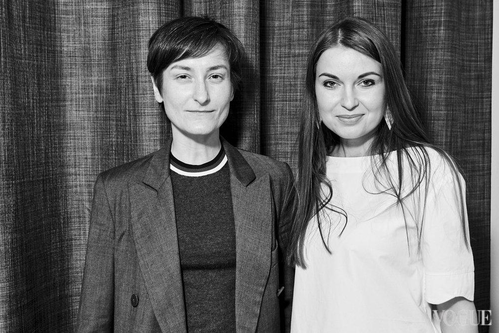 Татьяна Соловей и Елена Добрынская