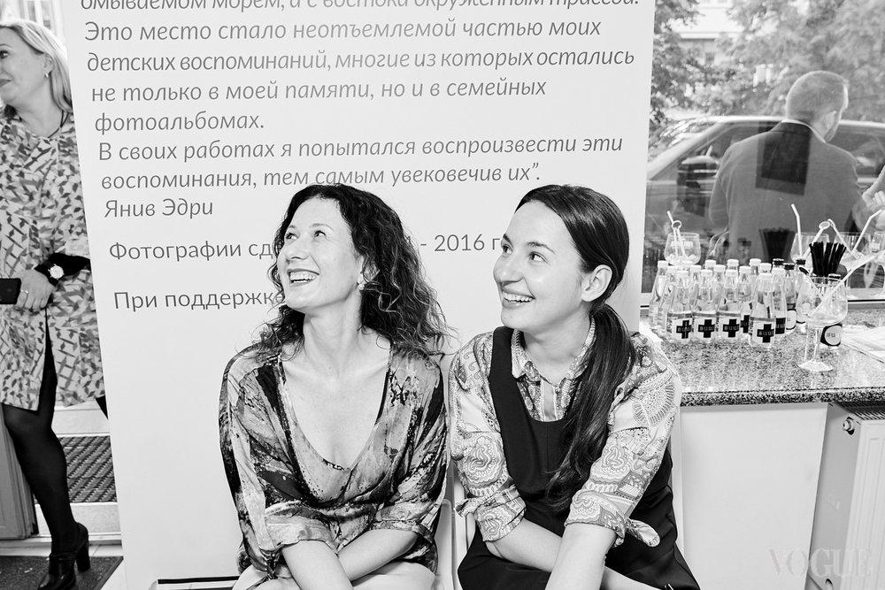 Светлана Рощук и Виолетта Федорова