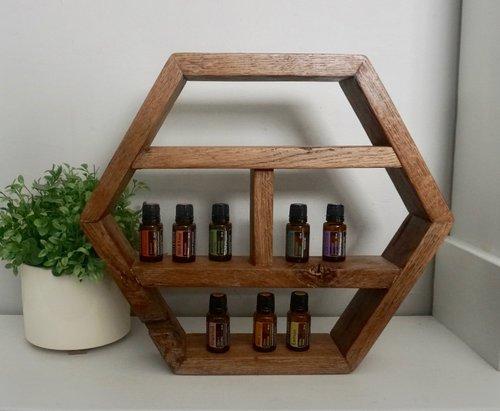 Dakota Hexagon Shelf Skeen Concepts