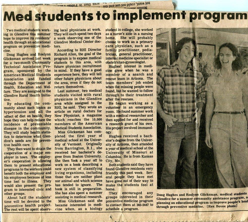 June 25, 1978 Glendive, Montana