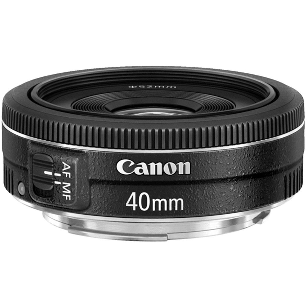 Click to learn more:  Canon EF 40mm f/2.8