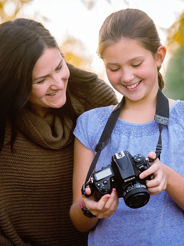 Sharing photography with your tween