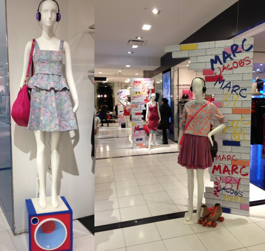 Marc Jacobs in-store  activation. . 2013