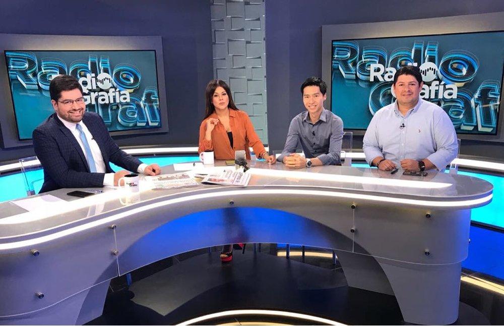 Entrevista con Ricardo Chen y Orlando Reyes.