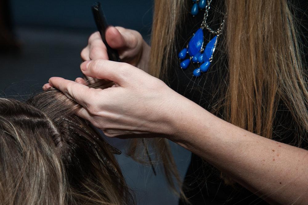 Hair Services Glass Door Salon Spa