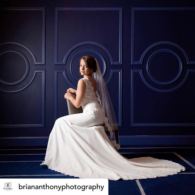 Our beautiful bride from yesterday! Hair and makeup by @erinblakley.  Posted @withrepost • @briananthonyphotography Simply stunning.  #bridalportrait #stunning #elegantwedding #classicbeauty #ncphotographer #blushingbride #beautiful #weddingday #weddingdress #greensborophotographer #congratulations #happilyeverafter #hairstylist #weddinghairstylist #makeupartist #mua