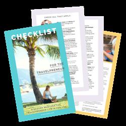 travelpreneur checklist elise darma