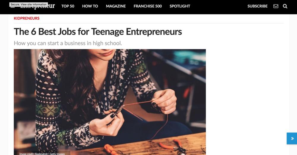 ELISE DARMANIN entrepreneur.com