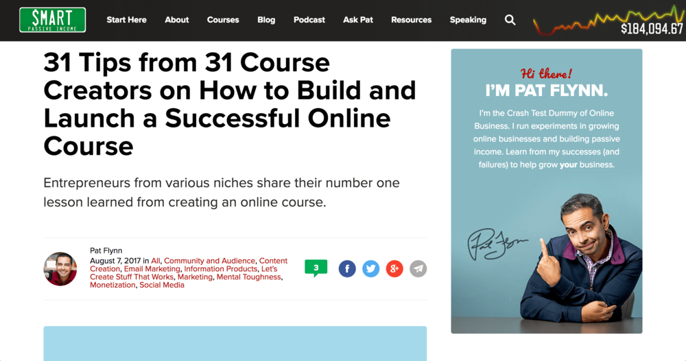 SMART PASSIVE INCOME 31 Tips from 31 Course Creators on How to Build and Launch a Successful Online Course Elise Darma, InstaGrowth Boss