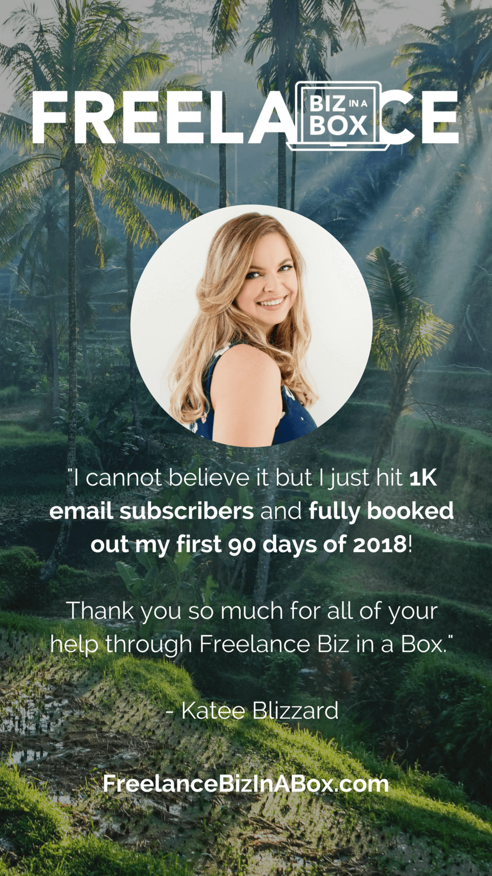 Freelance Biz In A Box - Katee Blizzard