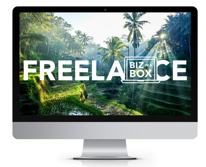 Freelance Biz In A Box course by Elise Darma
