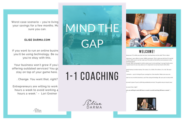 Mind The Gap Coaching with Elise Darma