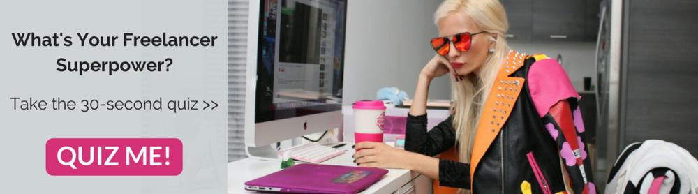 What's Your Freelancer Superpower? quiz - elise darma