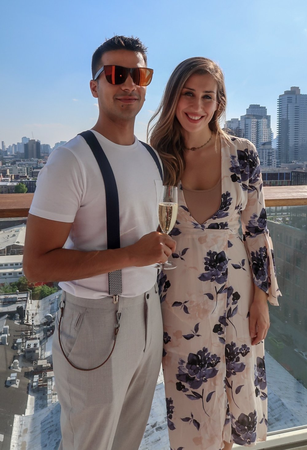 My boyfriend & I in New York recently!