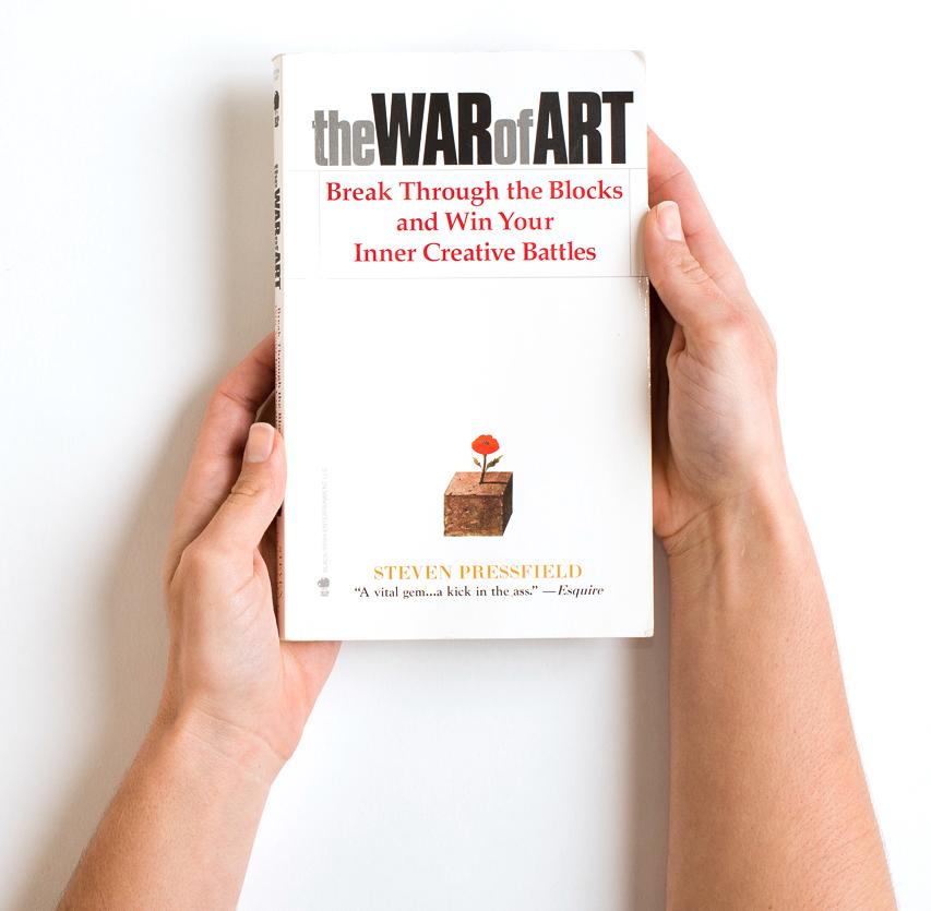 The War of Art Break Through the Blocks and Win Your Inner Creative Battles.jpg