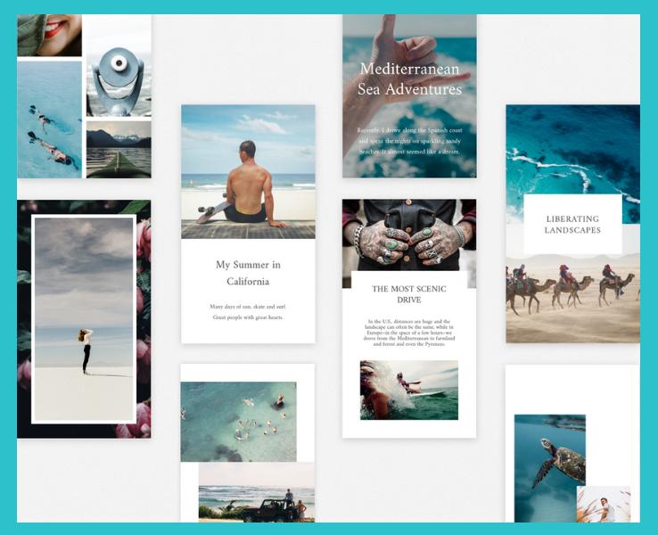 unfold app elise darma instagram stories.png