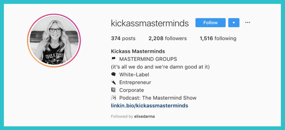 elise darma instagram kickass masterminds sara case study.png