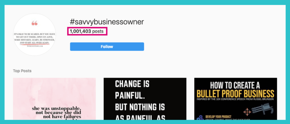 entrepreneur elise darma ideal customer instagram hashtags research business owner  analytics.png