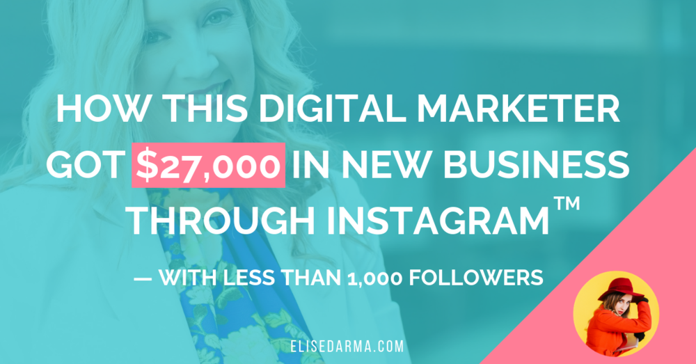 Blog — Elise Darma | Instagram Marketing Tips for Online Businesses