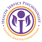 Credentialed by National Register of Health Service Psychologists