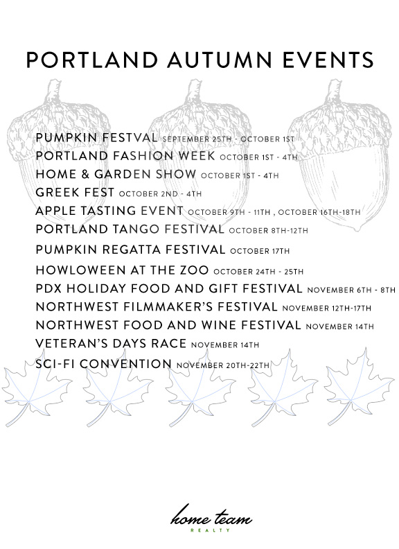 Portland Fall Events