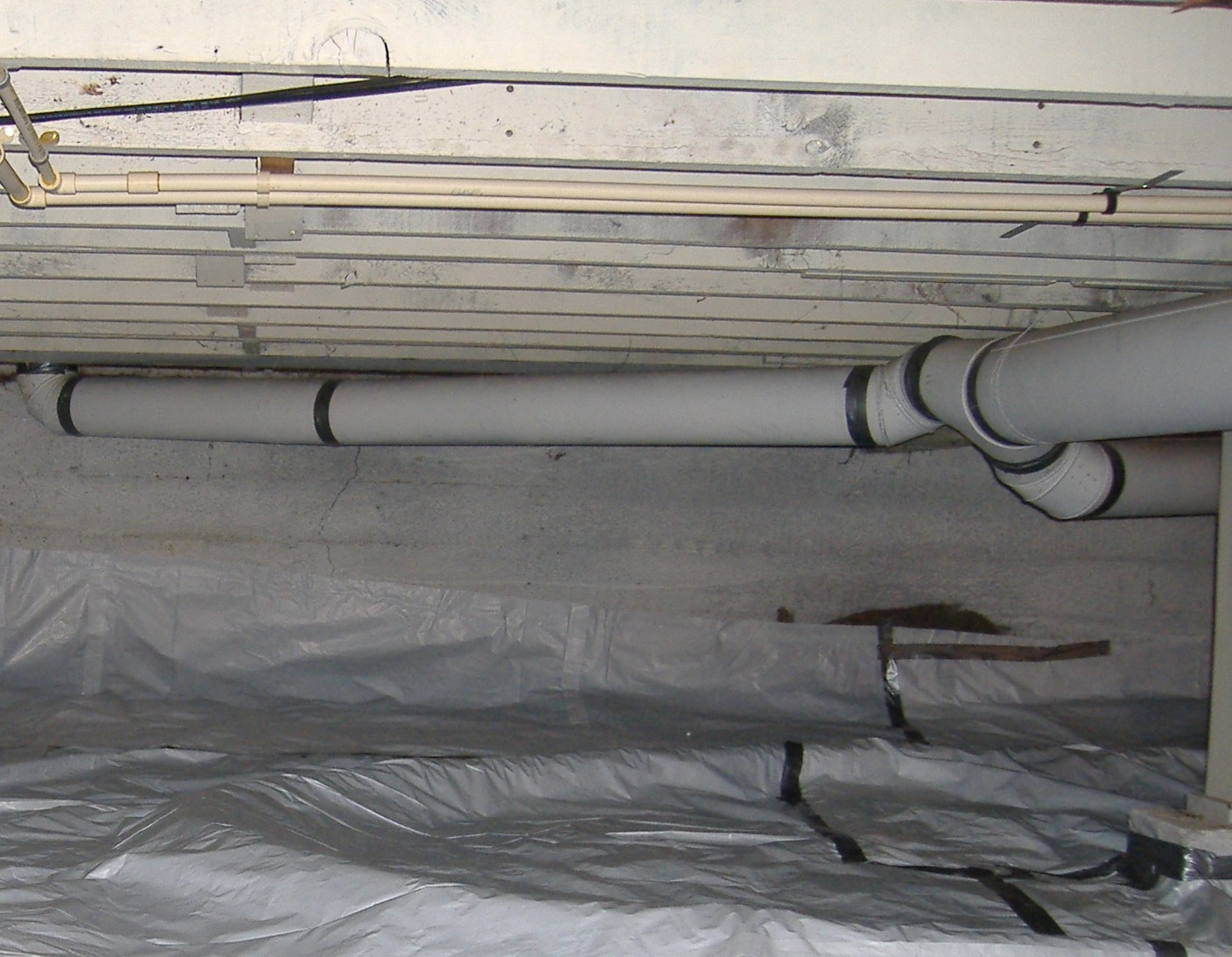 Systems can be installed in basements or crawlspaces.