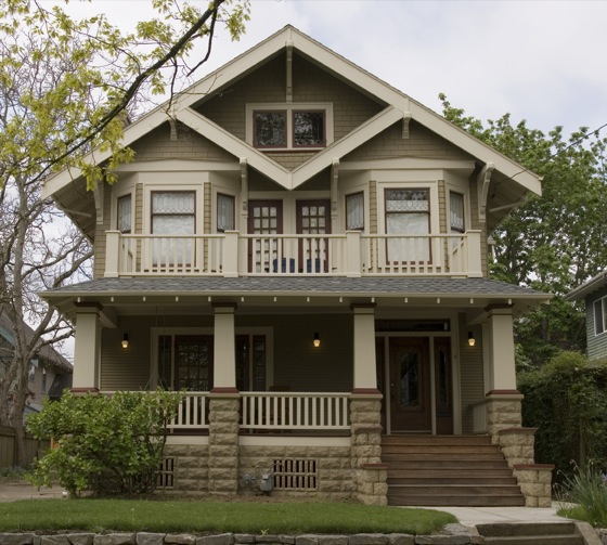 Portland home styles vary by era and neighborhood.